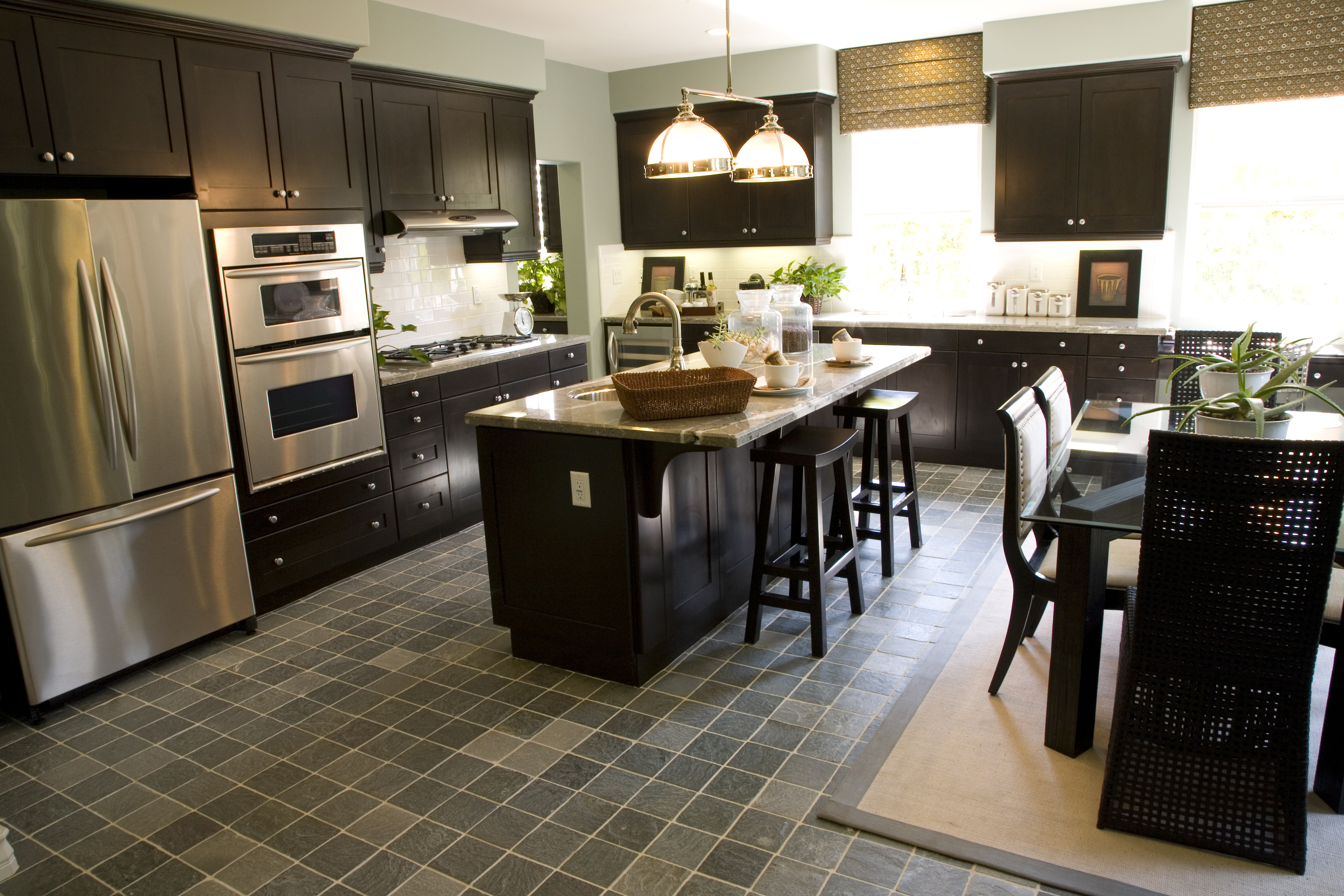 pros and cons of using stainless steel in kitchen design. Black Bedroom Furniture Sets. Home Design Ideas